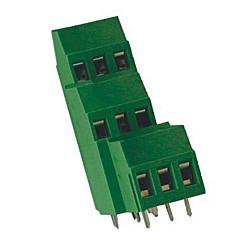 Leiterplattenklemme vertikal Raster 5,08 mm Bauhöhe 43 mm