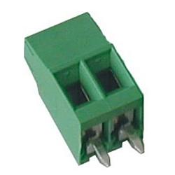 Leiterplattenklemme MVS13x-3,81-V-L vertikal 12,6 mm hoch, Raster 3,81 mm