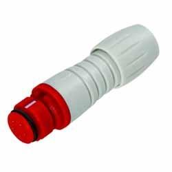Binder Kabeldose rot-grau Serie 720