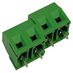 Leiterplattenklemme MVS17x-7,5-V vertikal 13,20 mm, Raster 7,50 mm