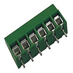 Leiterplattenklemme MVE15x-5-V-L vertikal 13,50 mm hoch, Raster 5,00 mm