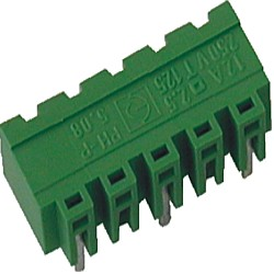 Stiftstecker PVxx-10,16-H-P horizontal Raster 10,16 mm geschlossen