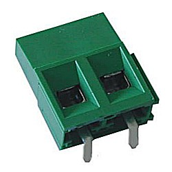 Leiterplattenklemme horizontal Raster 5,08 mm Bauhöhe 13,20 mm, anreihbar