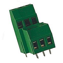 Leiterplattenklemme vertikal Raster 5,08 mm Bauhöhe 29,50 mm, Doppelstock