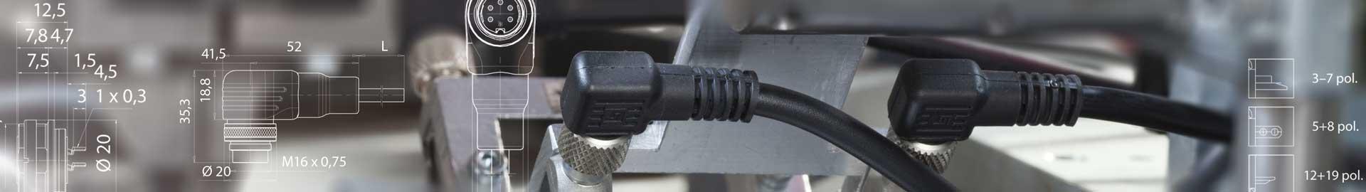 Die Binder Miniatur Stecker
