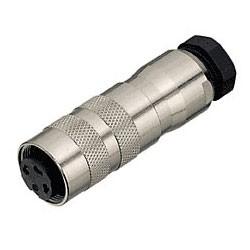 Binder Kabeldose mit Kabelklemme löt 6 - 8 mm Serie 423