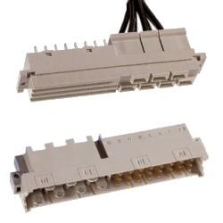 Steckverbinder DIN 41612 Bauform H7/F24