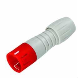 Binder Kabelstecker rot-grau Serie 720
