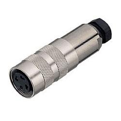 Binder Kabeldose mit Kabelklemme löt 4 - 6 mm Serie 423