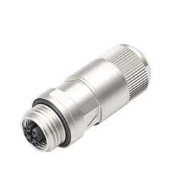 Binder M12-X Kabeldose Schneidklemmanschluss