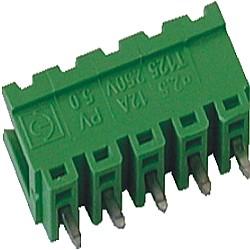 Stiftstecker PVxx-5-V vertikal Raster 5,00 mm offen