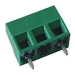 Leiterplattenklemme MV15x-10,16-V-L, vertikal 10,60 mm hoch, Raster 10,16 mm