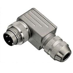 Binder Winkelstecker löt 6 - 8 mm Serie 423