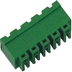 Stiftstecker PVxx-3,81-H-P horizontal Raster 5,00 mm geschlossen