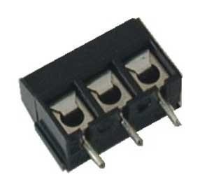 Leiterplattenklemme MVE13x-5-V vertikal Raster 5,00 mm Bauhöhe 10 mm
