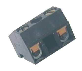 Zweiweg - Schraubklemme vertikal / horizontal Raster 10,00