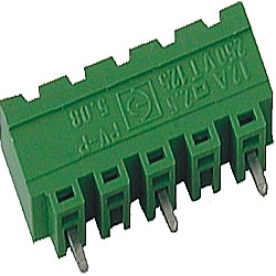 Stiftstecker PVxx-10,16-V-P vertikal Raster 10,16 mm geschlossen