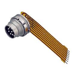 Binder Flanschstecker mit Kabel Serie 680