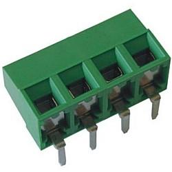 Leiterplattenklemme horizontal Raster 5,00 mm Bauhöhe 10,60 mm