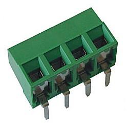 Leiterplattenklemme horizontal Raster 5,08 mm Bauhöhe 10,60 mm, Lift