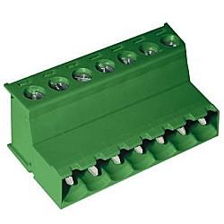 Stiftstecker SFxx-5,08-P horizontal Raster 5,08 mm