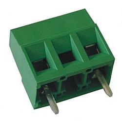 Leiterplattenklemme MVS15x-10-V-L, vertikal 13,20 mm hoch, Raster 10 mm