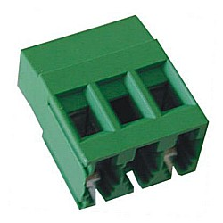 Leiterplattenklemme horizontal Raster 10,16 mm Bauhöhe 19,00 mm