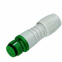 Binder Kabeldose grün-grau Serie 720