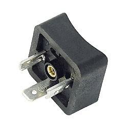 Gerätestecker, quadratisch mit Radius Bauform A