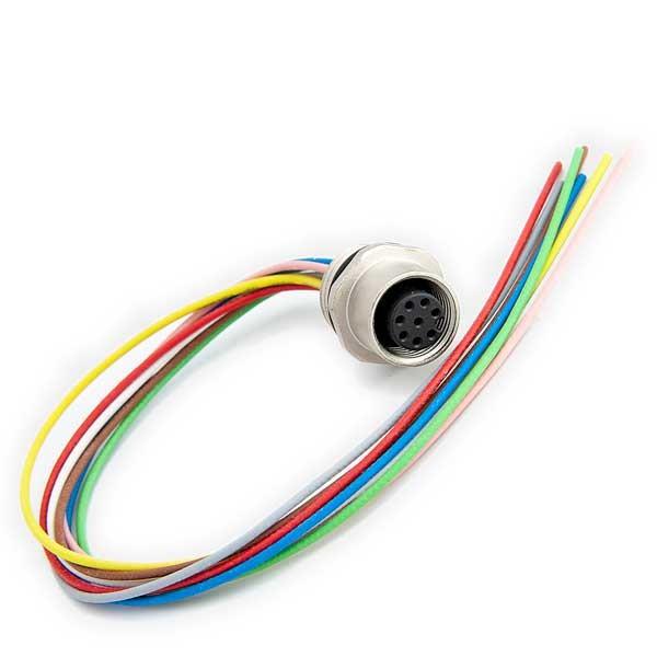 Kabelstecker Serie 763 mit Litze, vergossen