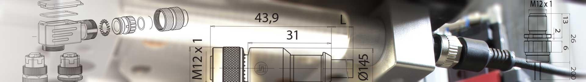 Die Binder M5, M8 und M12 unseres Angebotes