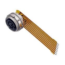 Binder Flanschdose mit Kabel Serie 680
