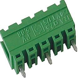 Stiftstecker PVxx-10,16-V vertikal Raster 10,16 mm offen