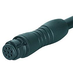 Binder Kabeldose mit 2 m Kabel Serie 620