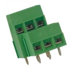 Leiterplattenklemme MVD15x-10,16-V, vertikal 16,50 mm hoch, Raster 10,16 mm