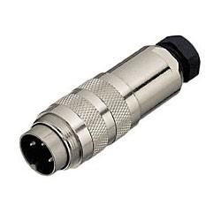 Binder Kabelstecker mit Schraubanschluss 6 - 8 mm Serie 423