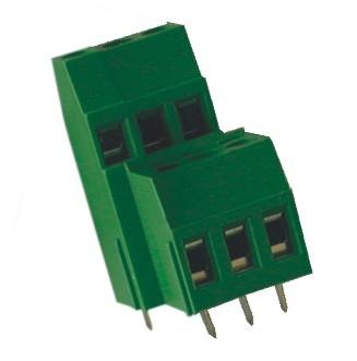Leiterplattenklemme MVD25x-5-V, vertikal 16,00 mm hoch, Raster 5,00 mm