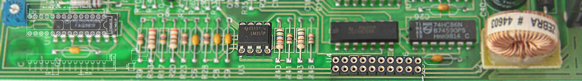 Die IC-Streifen und IC-Fassungen