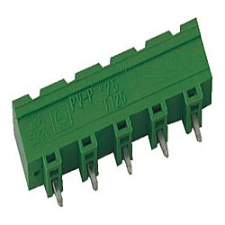Stiftstecker PVxx-7,5-V-P vertikal Raster 7,50 mm geschlossen